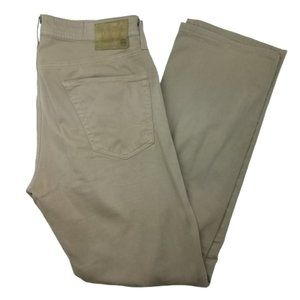 Adriano Goldschmied Protege Straight Leg Tan Jeans